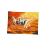 Ansichtkaart 'De Hemelse Paarden'