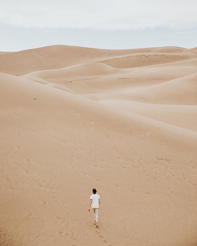 Een stem in de woestijn