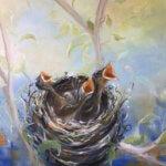"""Schilderij """"Voorziening"""" door Ida Paula Klepper"""
