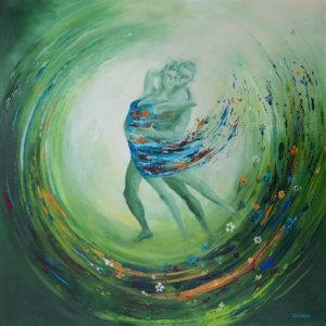 Schilderij 'Harmonie' door Ida Klepper